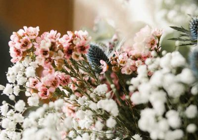 fleurs mariage gypsophile
